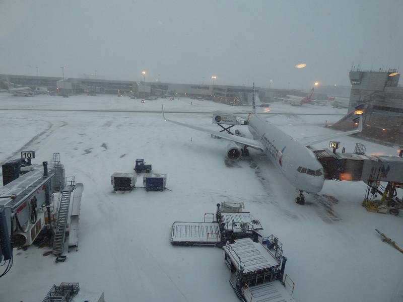 20150109 0815 snow at JFK