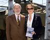 Hebrew Immigrant Aid Society representative Valery Bazarov with Jacky Clyman of the AAM.