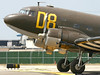 The Airpower Museum's C-47 lines up for takeoff.
