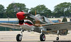 "P-40 ""The Jackie C"" taxies for takeoff."