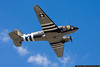 The AAM's C-47 departs on another D-Day Flight Experience.