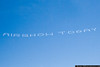 A little advertising, courtesy of the GEICO Skytypers.