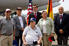 A meeting of Berlin Airlift veterans, both airmen and German citizens.