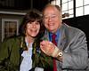 Museum photographer Nancy Epstein with Secretary Cleland