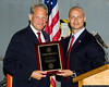 Rep. Steve Israel is honored by the Suffolk Police Veterans Association