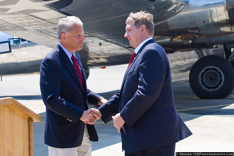 Congressman Steve Israel welcomes Michael Sulick, Director of the National Clandestine Service of the CIA
