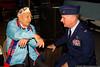 Col. Thomas Owens with Michael Montelione