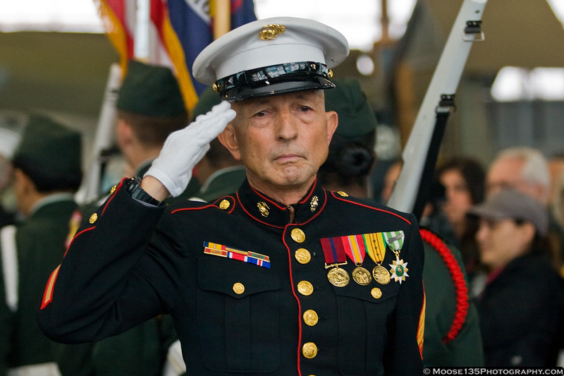 Sergeant at Arms Paul Massi, USMC