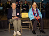 An empty seat - survivor William Halleran was unable to attend due to health. He passed away two days after the ceremony.