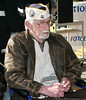Pearl Harbor survivor William J. Vatter.  Vatter was a US Navy radioman on the USS Tracy, a destroyer, during the attack on Pearl Harbor.
