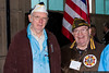 Pearl Harbor survivors Richard Abeles and Gerard Barbosa.