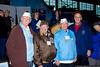 Survivors Richard Abeles, Gerard Barbosa, and Frank Castronova with New York State Assemblyman David G. McDonough.