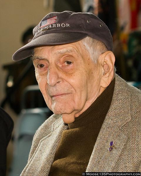 Pearl Harbor Survivor Seymour Blutt