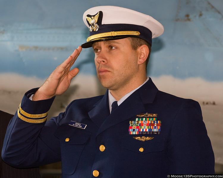 Lt. David Barnes, US Coast Guard