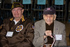 Pearl Harbor Survivors Gerard Barbosa and Seymour Blutt