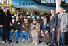 Pearl Harbor Survivors William Halleran, Gerard Barbosa, Seymour Blutt and Bernard Berner.