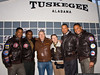 Actors Tristan Wilds, David Oyelowo, Terrence Howard, and Cuba Gooding, Jr. with Jeff and Jacky Clyman.