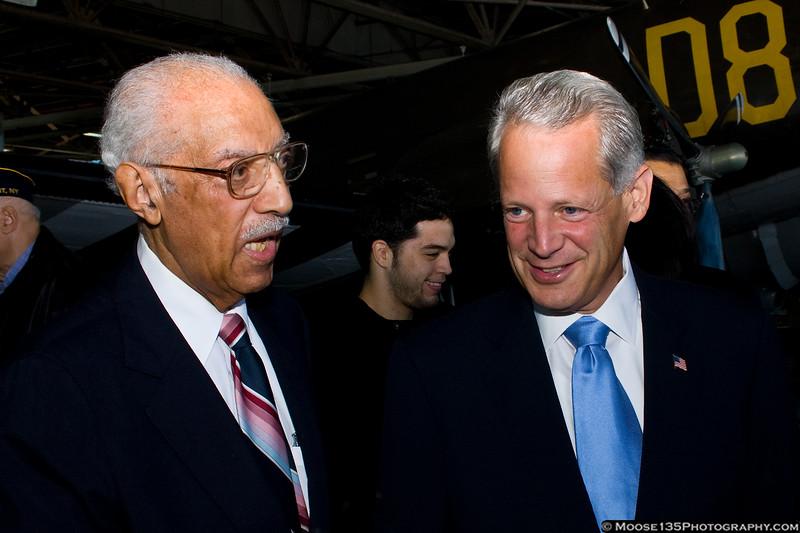 Mr. McRae with Congressman Israel