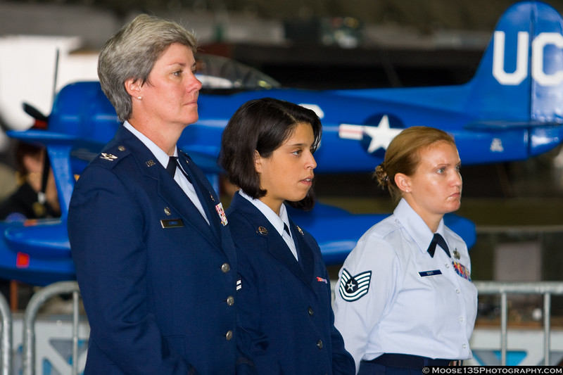 Members of the Air Force Reserve 106th Rescue Wing.