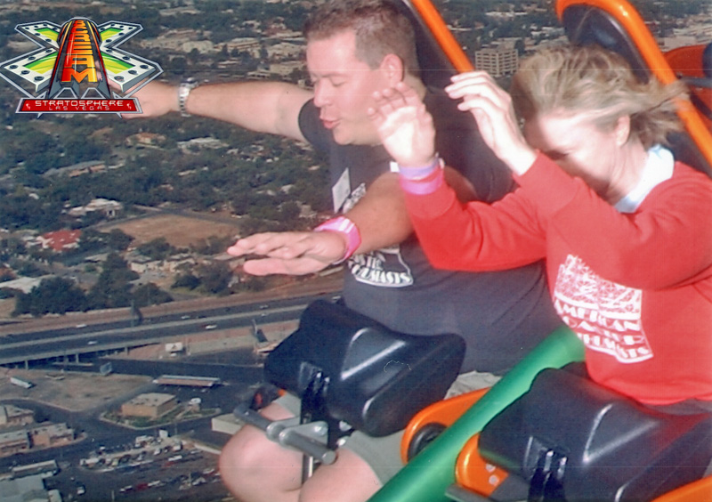 X-Scream, Stratosphere Tower