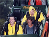 Loch Ness Monster, Busch Gardens Williamsburg: I rode Nessie during heavy rain. It was painful at times, having rain blasted in your face at 50 mph, but I liked the picture.