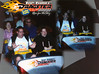 Top Thrill Dragster, Cedar Point: I dragged my friend LA on this ride during CoasterMania and I think she was terrified for her life; look at her death grip on the bar!  Taken on 6/15/2007.