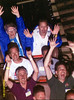 A night ride with Mac on the Kentucky Rumbler at Beech Bend (Bowling Green, KY) during CoasterCon XXX.  Taken on 6/23/2007.