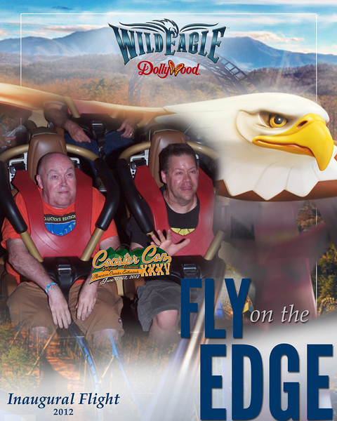 Wild Eagle - I look like I am really scared in this photo!