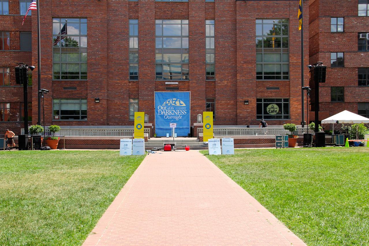 Opening Ceremony Site-George Washington University.