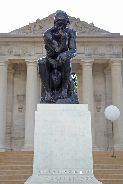 Rodin Museum..'The Thinker'.