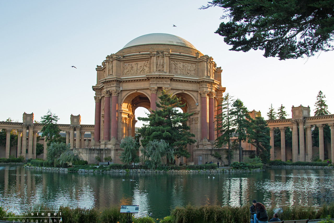Palace of Fine Arts-On The Route