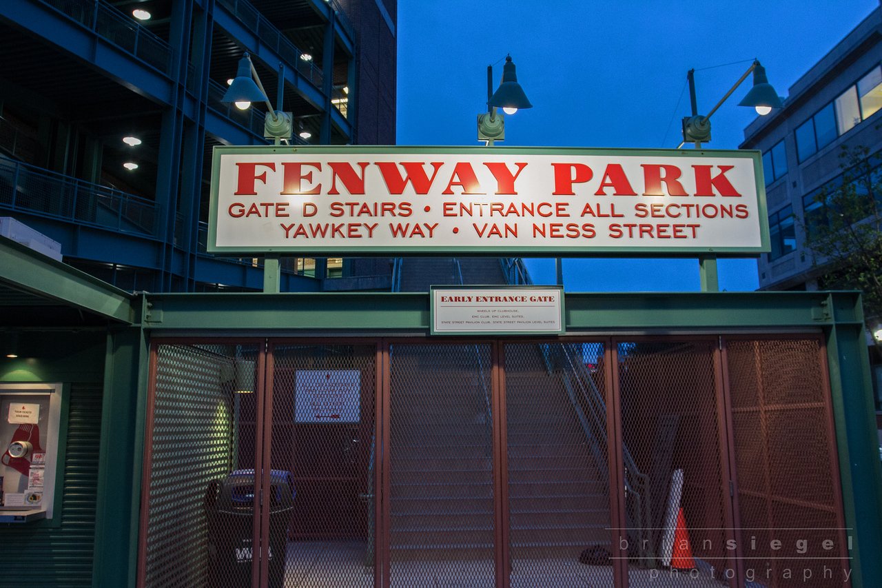 The Route.....Fenway..