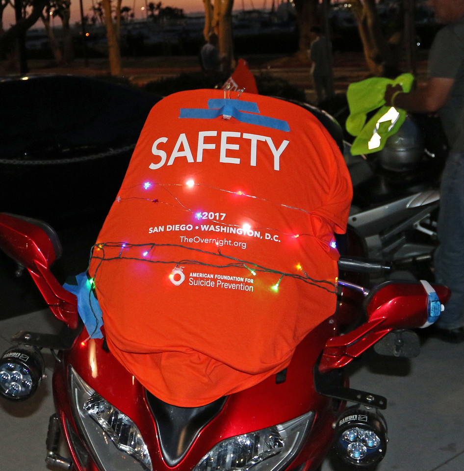 Safety Volunteers on the Route