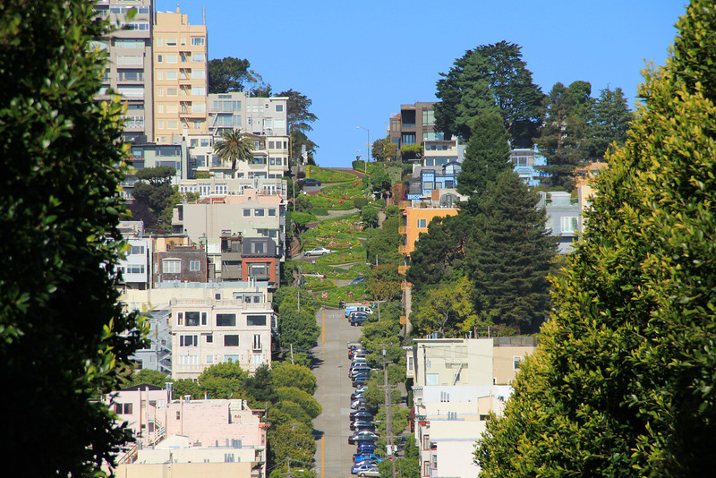 Photo taken on Lombard Street
