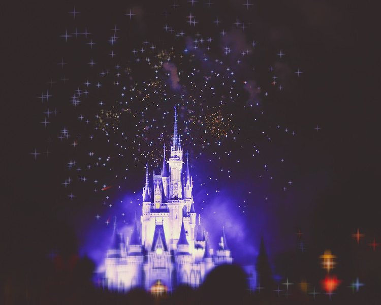 Cinderella's Castle Fireworks