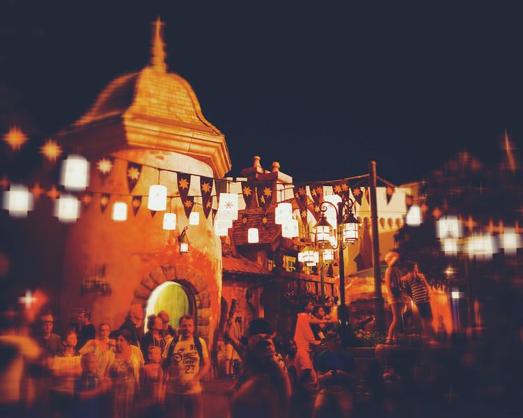 Disney world Night Scene