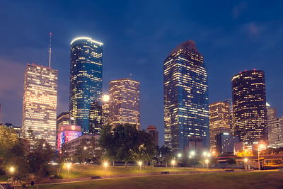 Houston at Night
