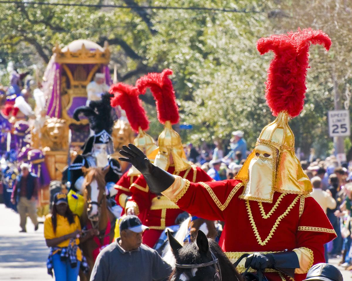 Mardi Gras Knights