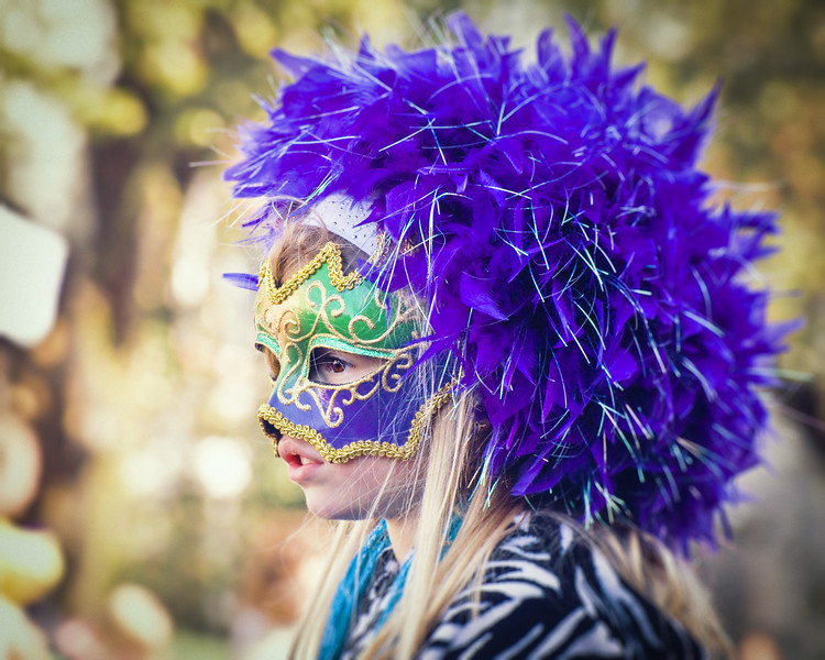 Masked Mardi Gras