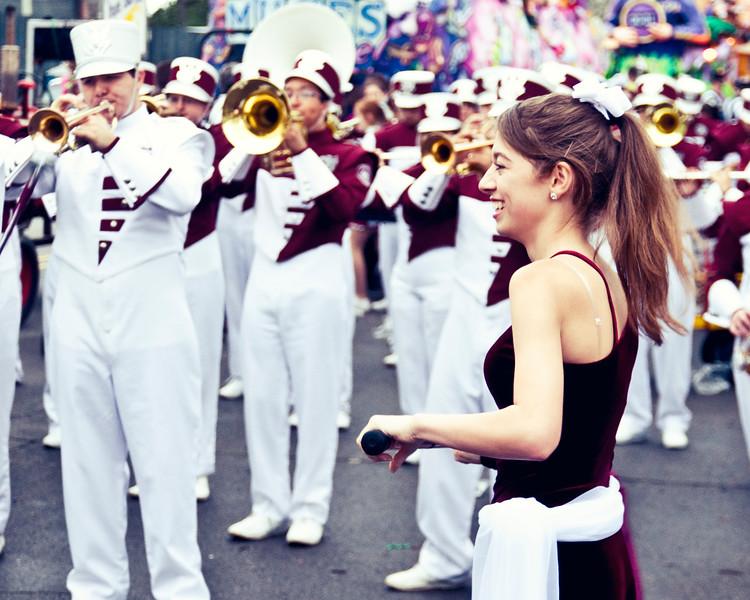 Pre-Parade in De'Tat