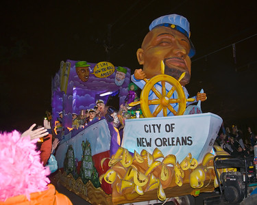 City of New Orleans Float