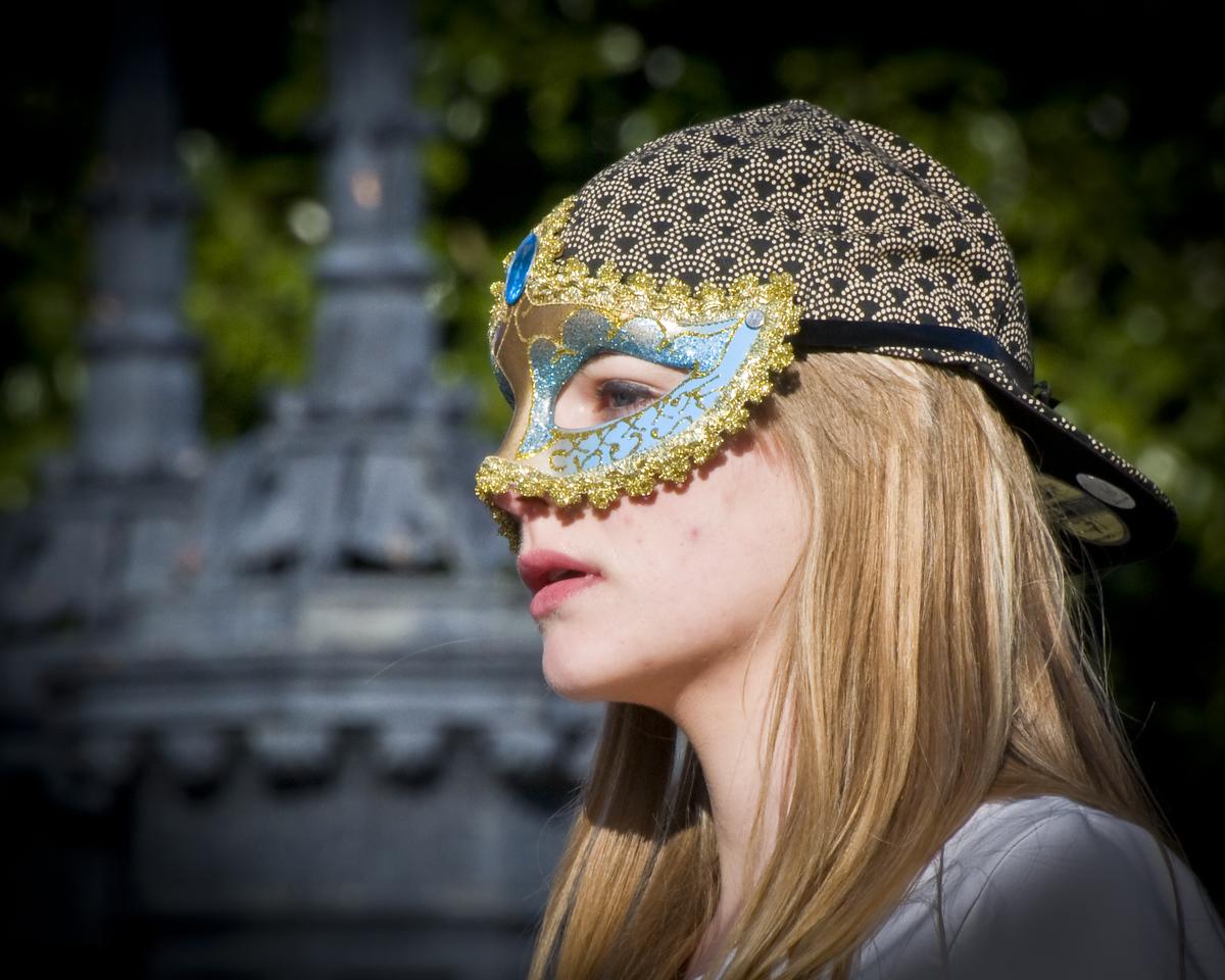 Masquerade in Jackson Square