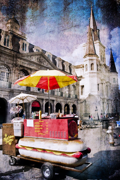 Hot Dogs on Jackson Square