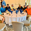 Some of the golfers