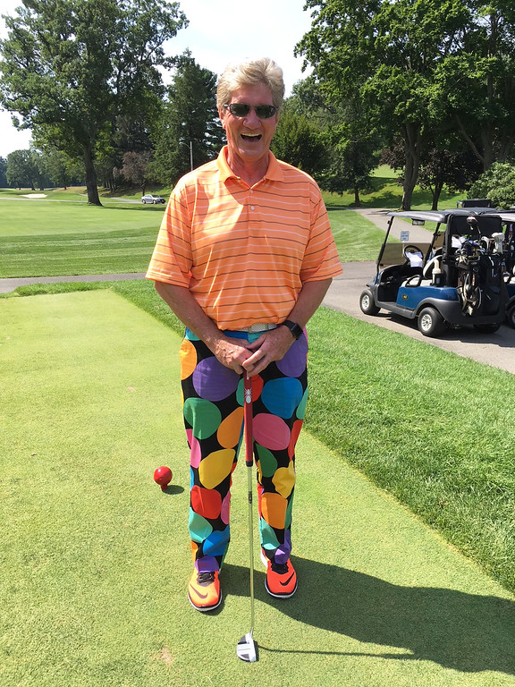 . The colorful Mark Lewis of Bedford, N.H.