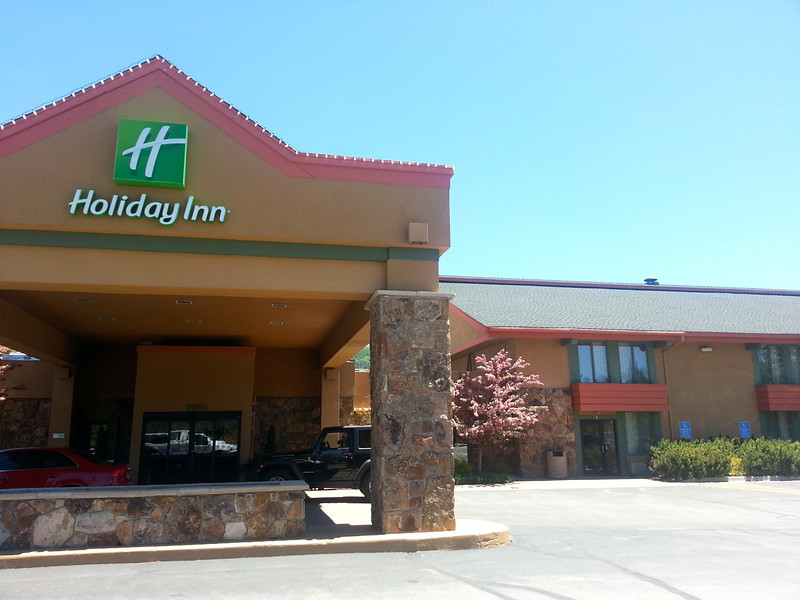 uh the Holiday Inn.