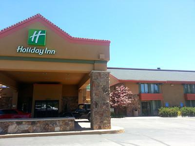 uh the Holiday Inn.