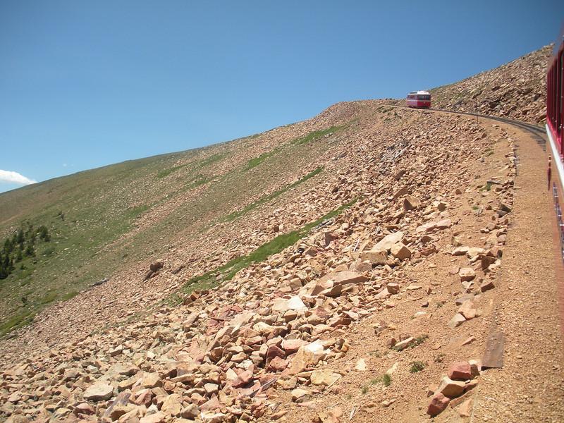 Pikes Peak Cog Wheel Route