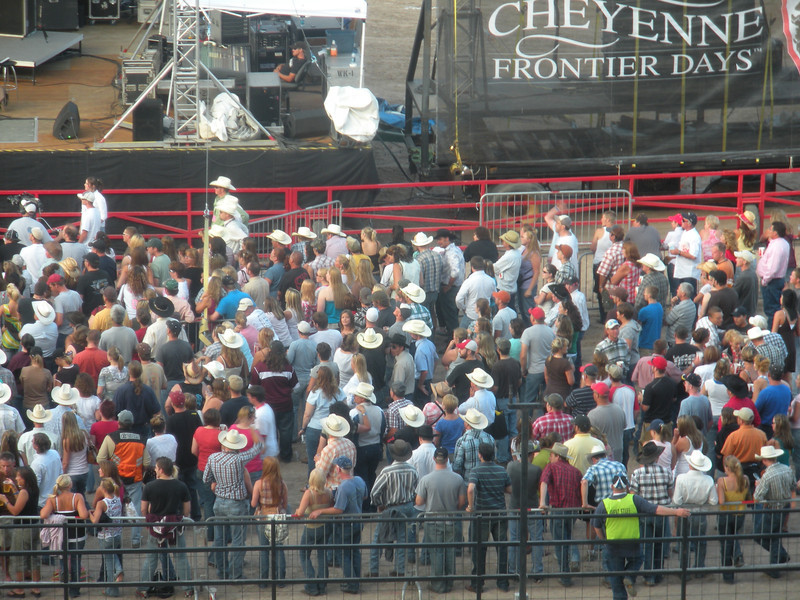Sawyer Brown concert at Cheyenne Frontier Days