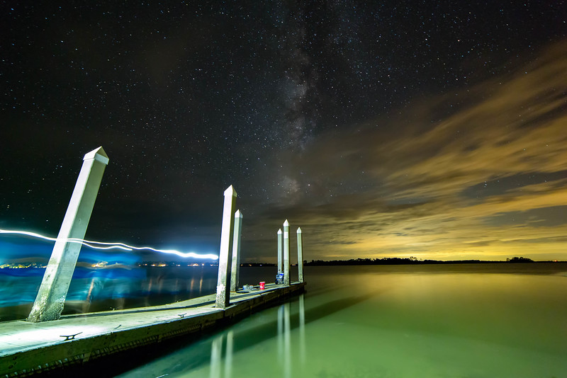 The Milky Way Over Fripp Island, South Carolina